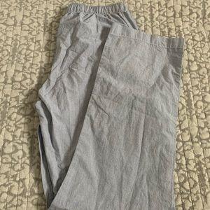 GAP Pinstripe Pajama Pants